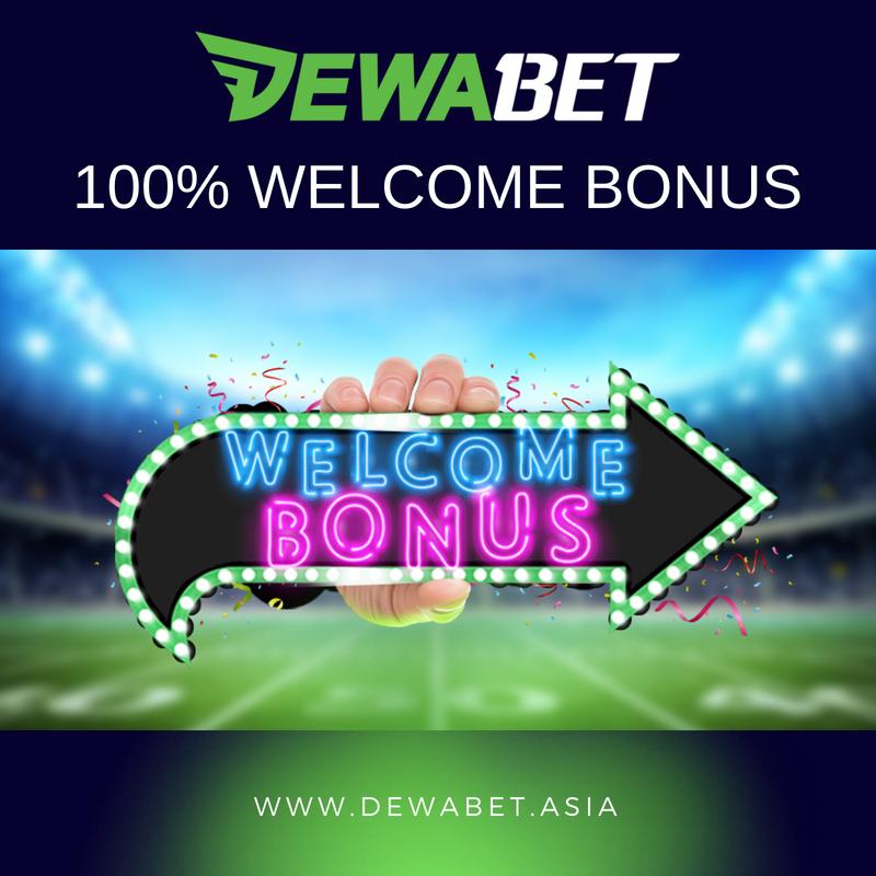 Make Your First Deposit And Get 100 Welcome Bonus To Jump Start Your Winnings Dewabet Bet Onlinecasino Welcome Welcomebonus Betonline Poker Sp Olahraga