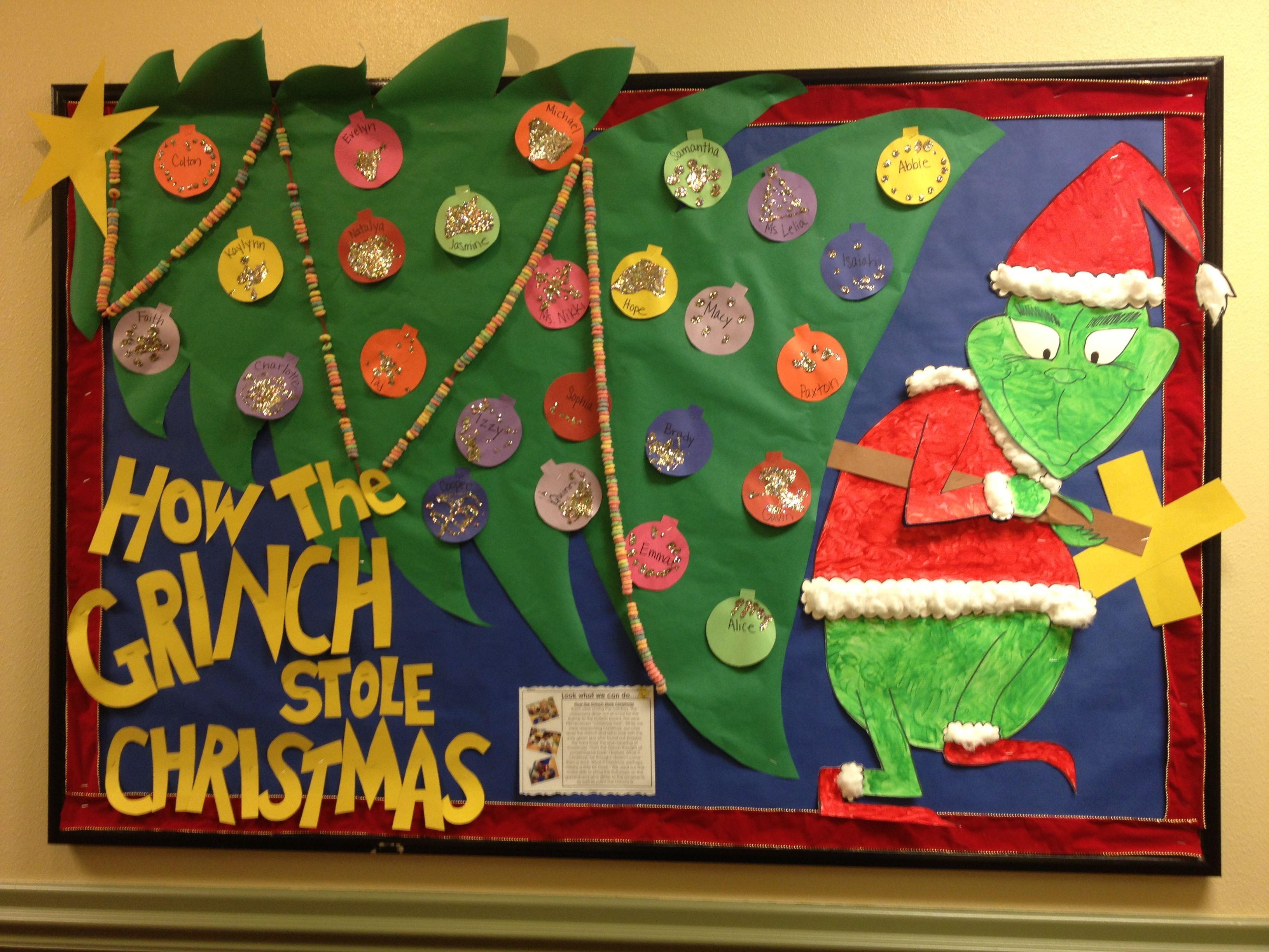Grinch Christmas Board