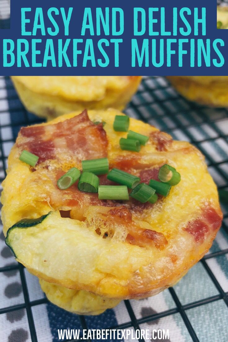 Easy On The Go Breakfast Muffins Recipe Low Carb And