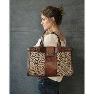 Fossil Cheetah and Leather. I need this!