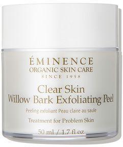 Eminence Organic Skin Care Clear Skin Willow Bark Exfoliating Peel Clear Skin Detox Eminence Organic Skin Care Organic Skin Care
