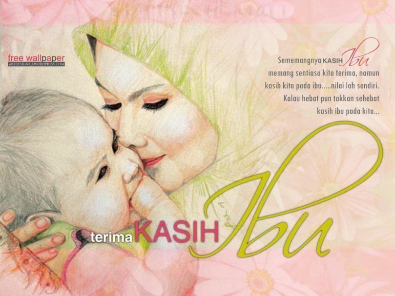 Ilustrasi Indah Kasih Sayang Ibu Terhadap Anak Dengan Gambar