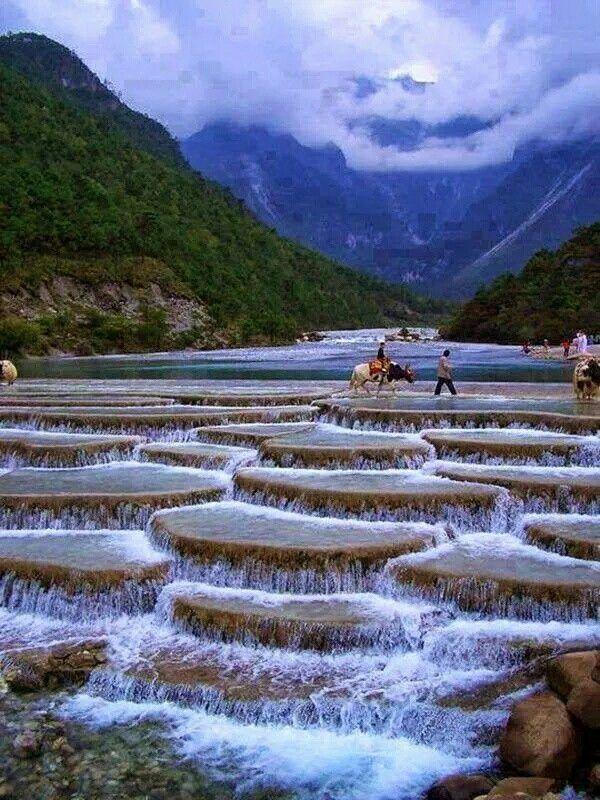 The Blue Moon Valley, Lijiang, China