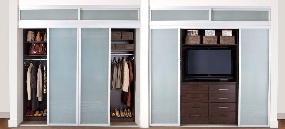 Reach In Closet With Tv Closet Bedroom Closet Conversion Reach