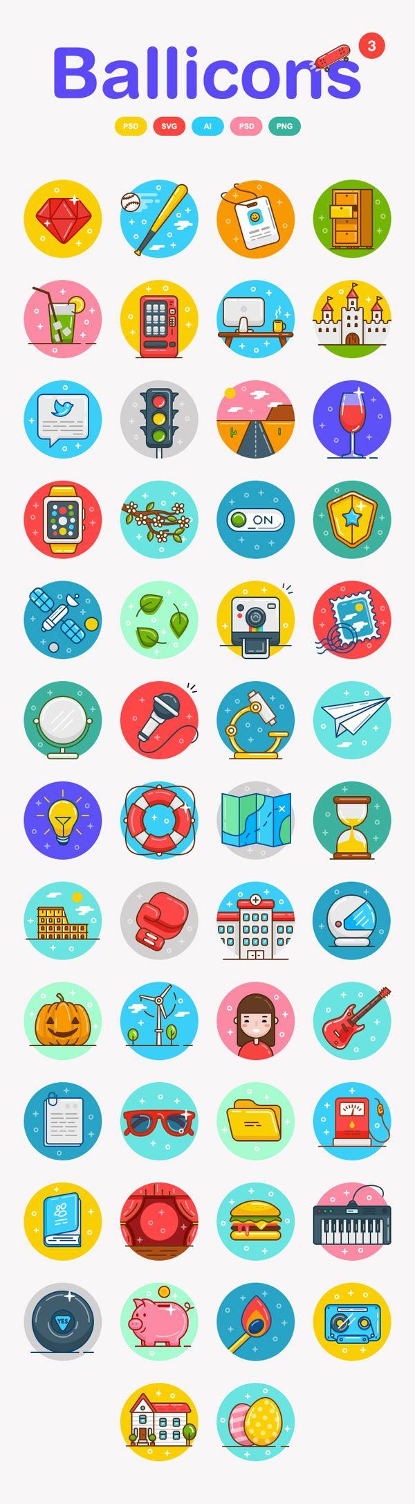 Excelentes iconos vectoriales