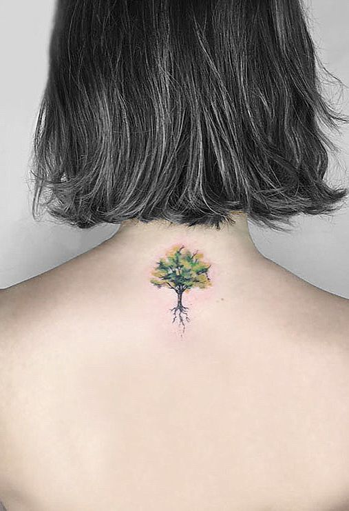 50 Gorgeous and Meaningful Tree Tattoos Inspired by Nature's Path - İnstaglobal