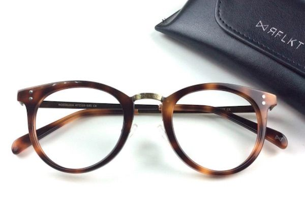Statement Clutch - vintage glasses beige by VIDA VIDA vuTdk