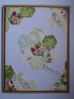Card Corner by Candee: Quilted Thoughts Card