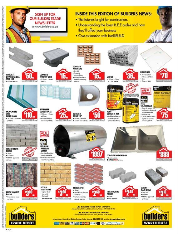 Builders Warehouse Latest Catalogue Builders Warehouse Catalog Lettering