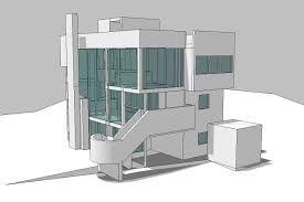 smith house richard meier elevations에 대한 이미지 검색결과