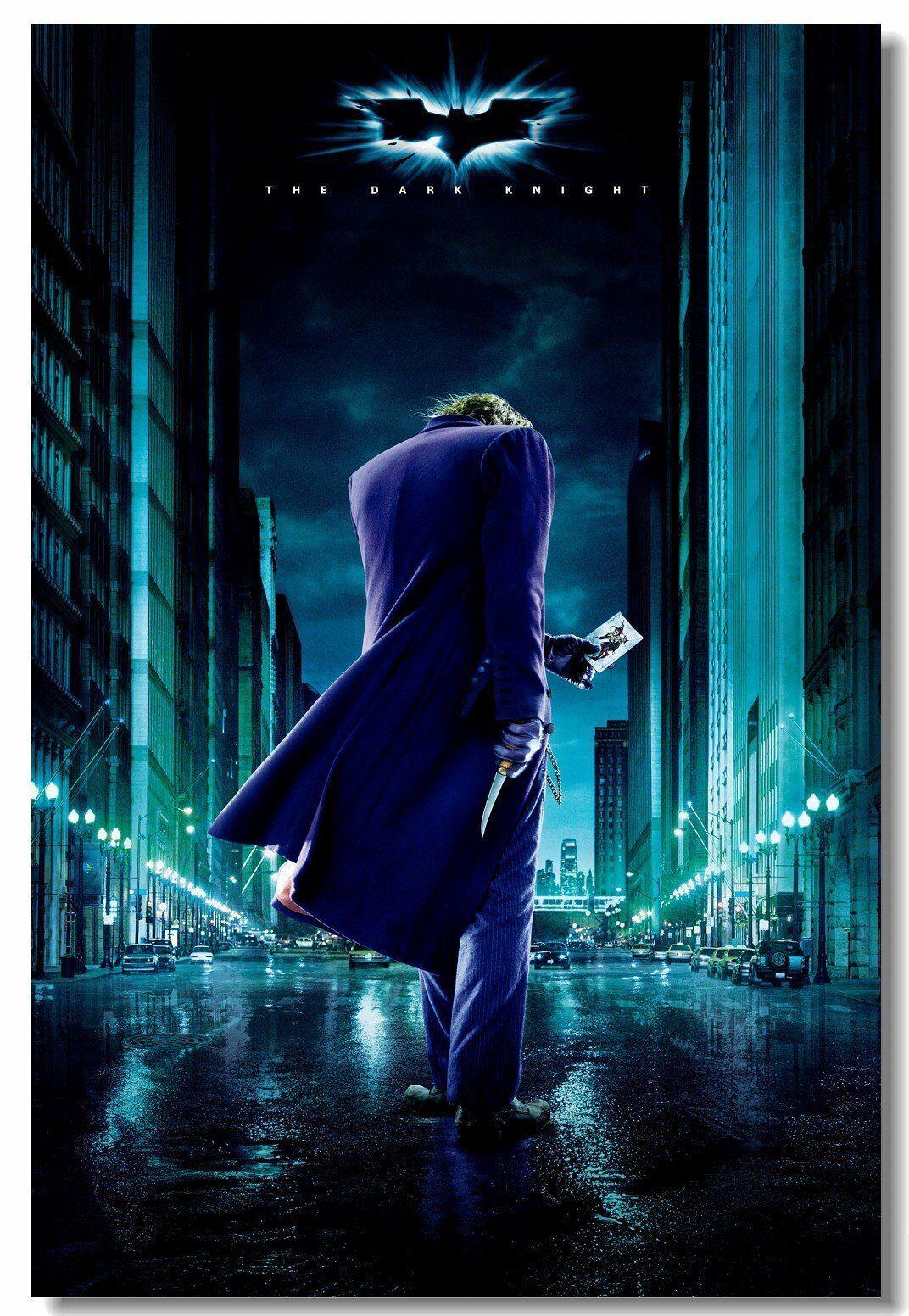 The Dark Knight Rises Return Joker Movie TDK Movie 2012 Cat Poster Print 512