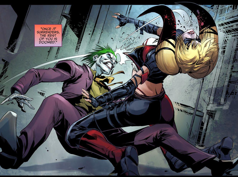 Harley Quinn VS The Joker Injustice Gods Among Us 3