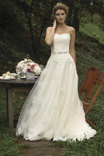 Cream Alencon Lace Juno Feminine Wedding Dress | Wedding, Romantic ...