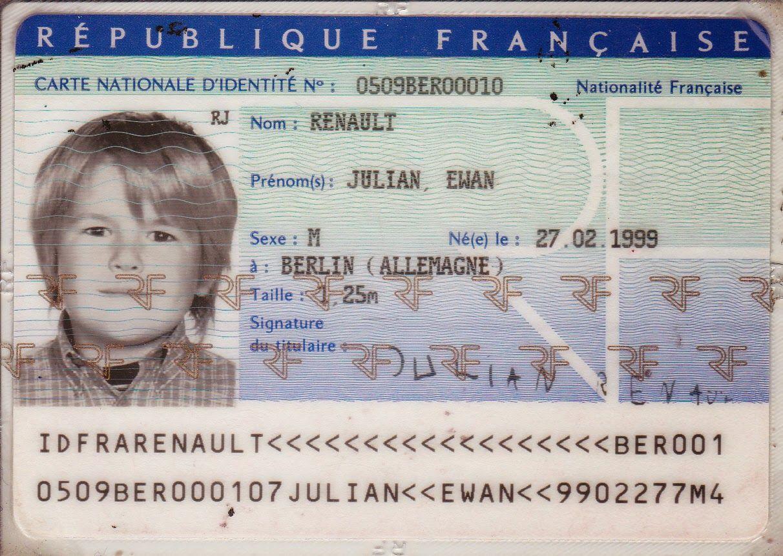 Image Result For Carte D Identite Carte D Identite Carte