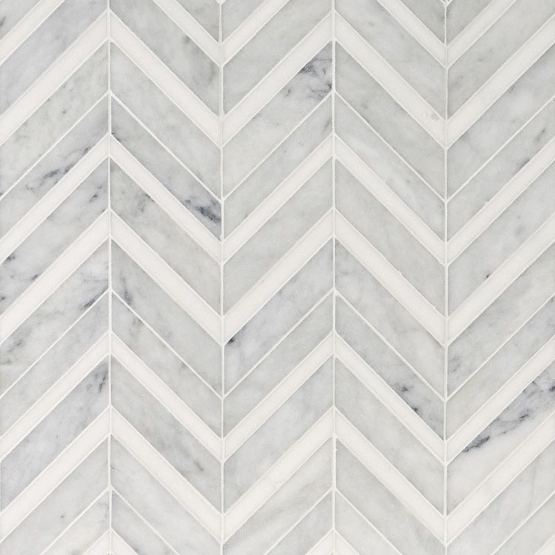 Chevron Marble Rug: Pin By Beth A. On CT Powder Room