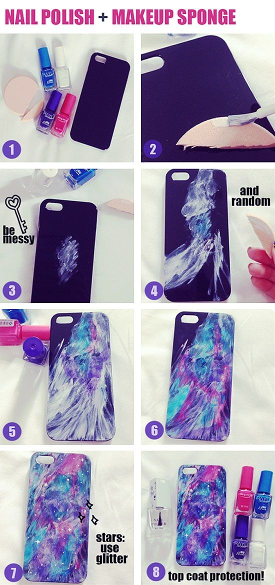 14 Easy Diy Accessories For Your Phone Diy Phone Case Diy