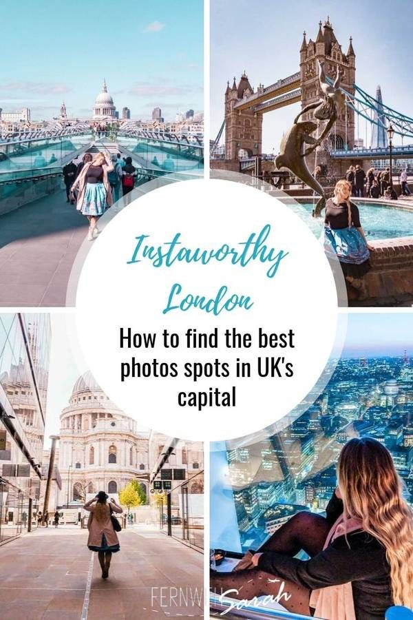 Best Photoshoot locations in London – find highly instagrammable spots!