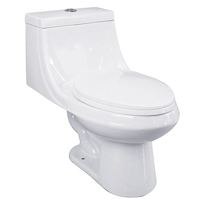 Astounding 249 Elongated 1 Piece Toilet Dual Flush White One Piece Gamerscity Chair Design For Home Gamerscityorg