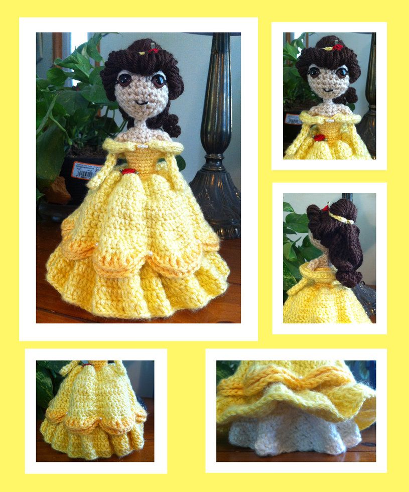 Just a little cutie I always wanted to make! She is inspired by Lalaloopsy Toffe Cocoa Cuddles, but I changed some details especially the colors. The pattern I wrote...let's say it is incomplete an...