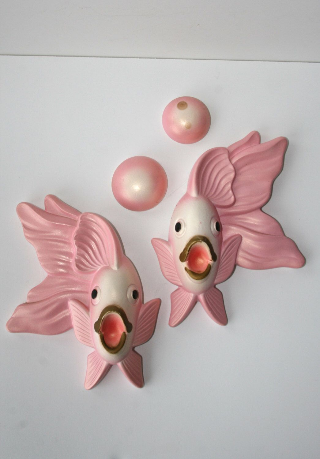 Bathroom Fish Decor Vintage Pink Angel Fish Bathroom Decor Plaster Plaques Fish