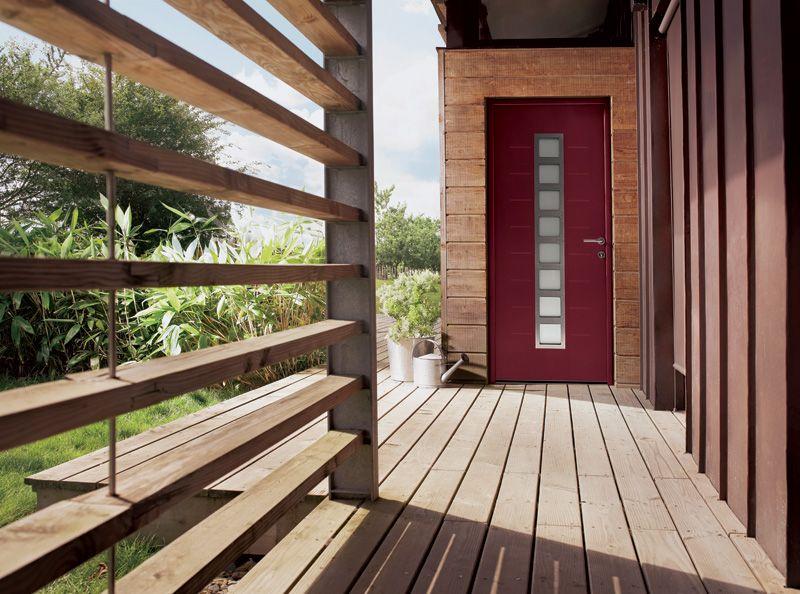 Une porte du0027entrée moderne pour la maison     wwwm-habitatfr