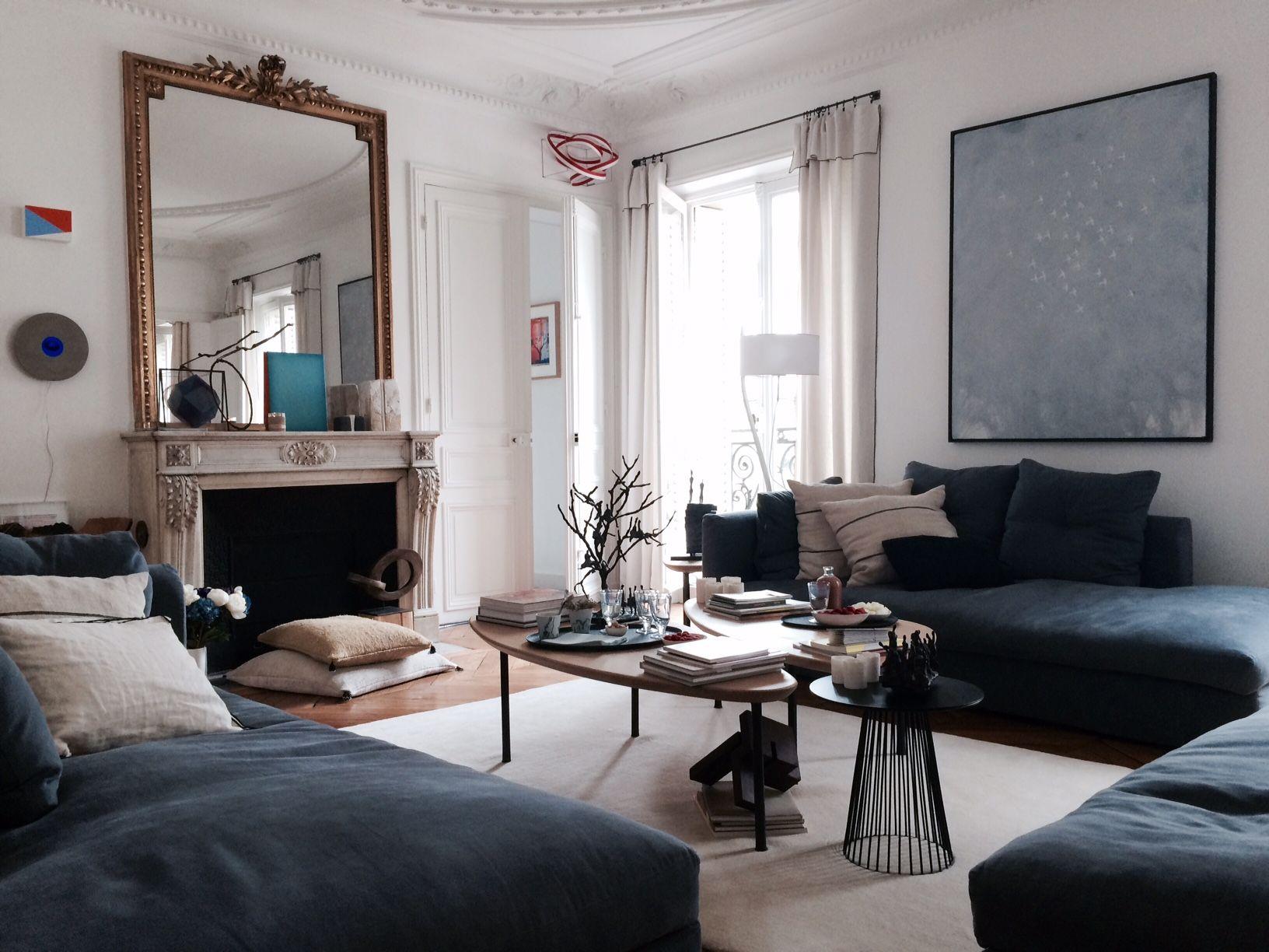 Visite Privée chez Amélie et son Art Room, Zeuxis  Déco salon