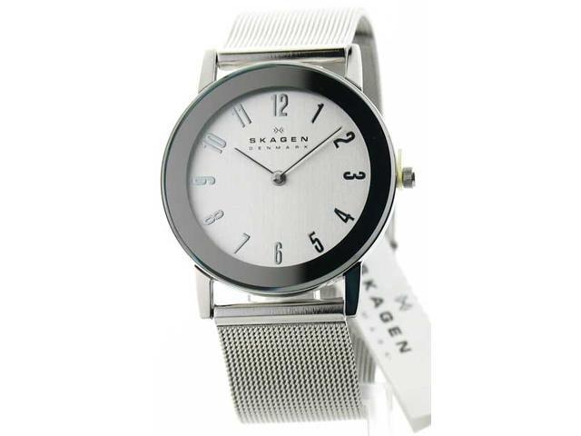 Newegg.Com - Mens Skagen Steel Slim Dress Watch 39LSS