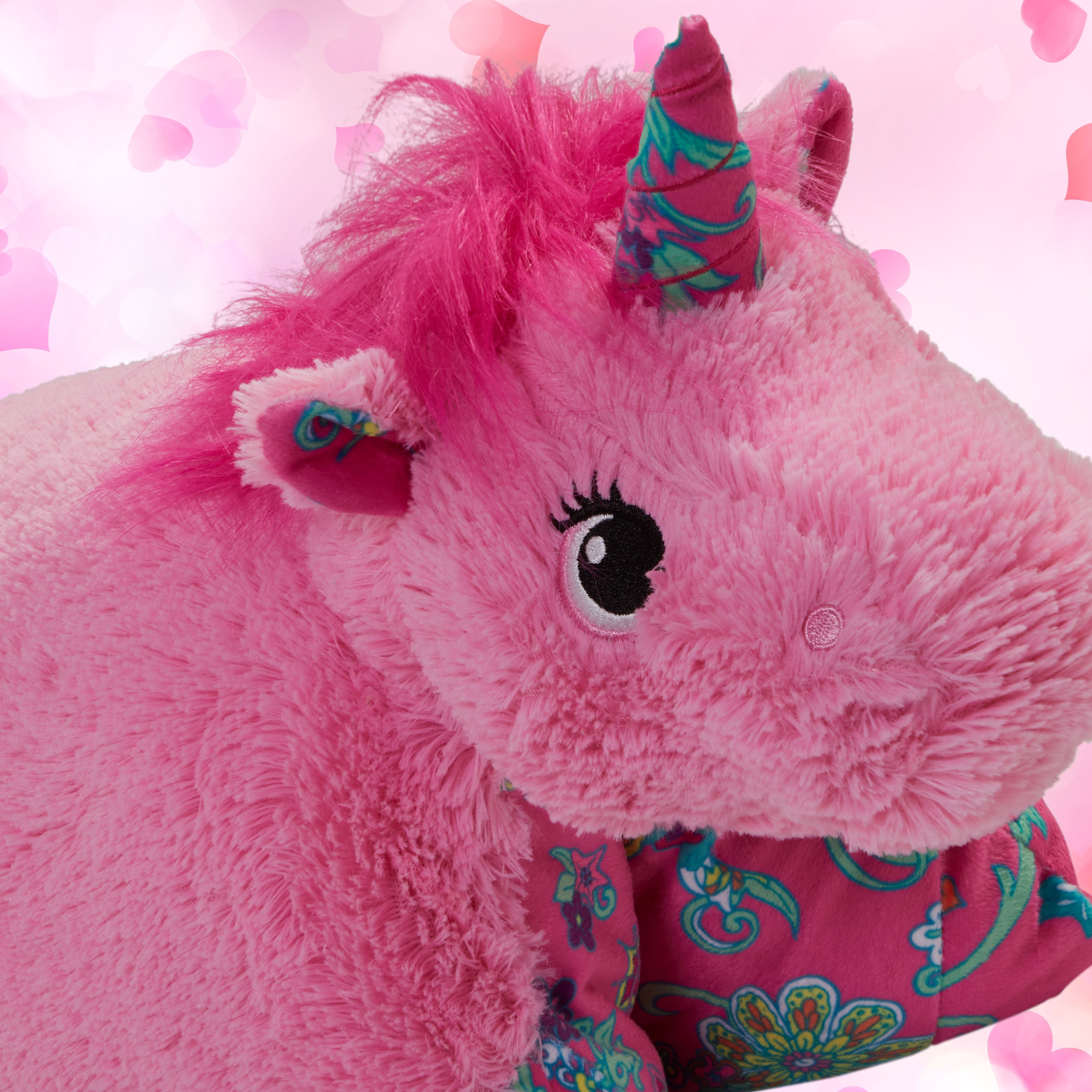 The Pillow Pets Pink Unicorn Is The Most Enchanting Stuffed