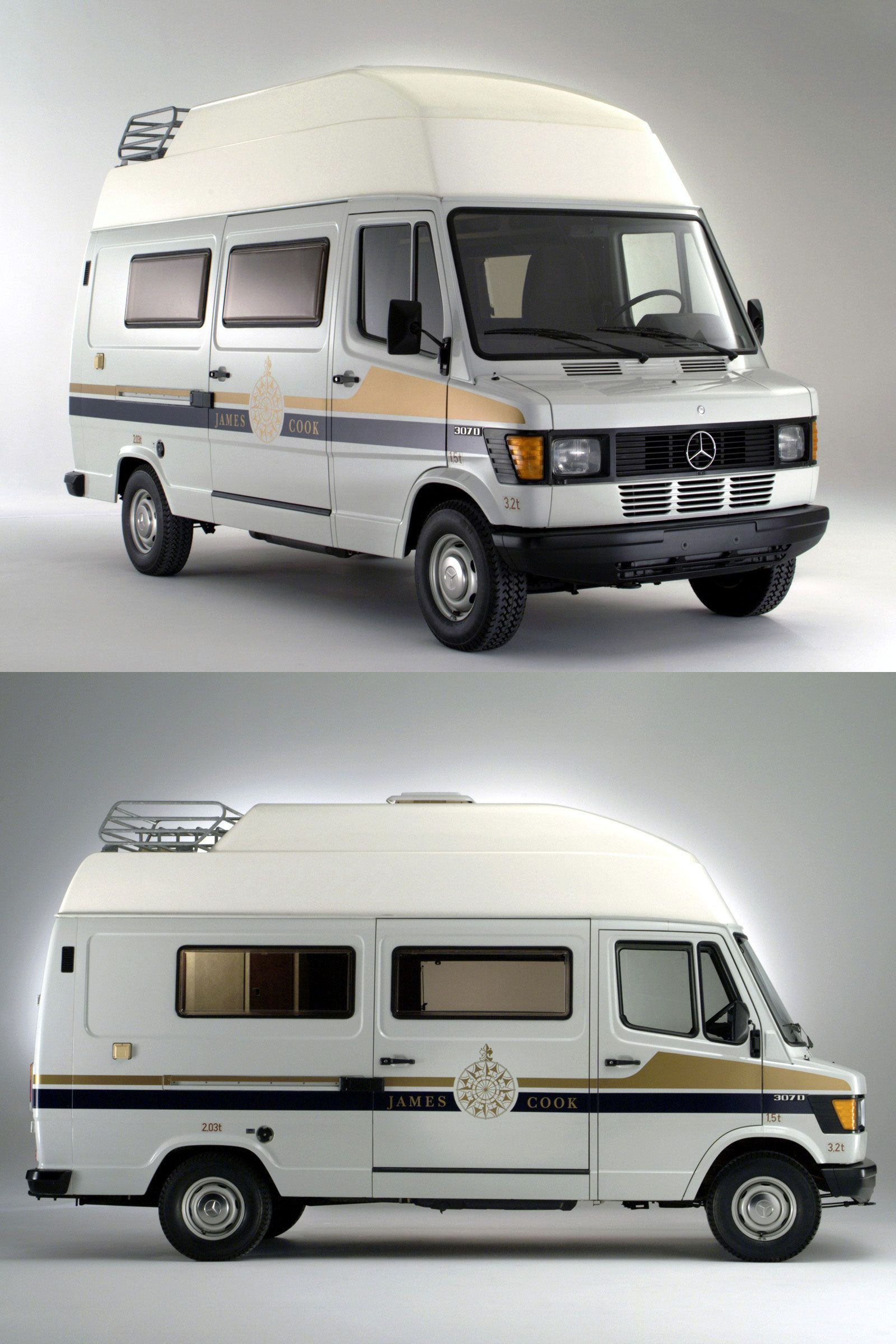 mercedes benz t1 307d wohnmobil 39 39 james cook 39 39 camper. Black Bedroom Furniture Sets. Home Design Ideas