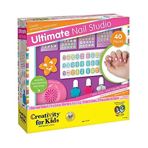 Best Gifts for 8 Year Old Girls in 2017 | Nail studio, Creativity ...