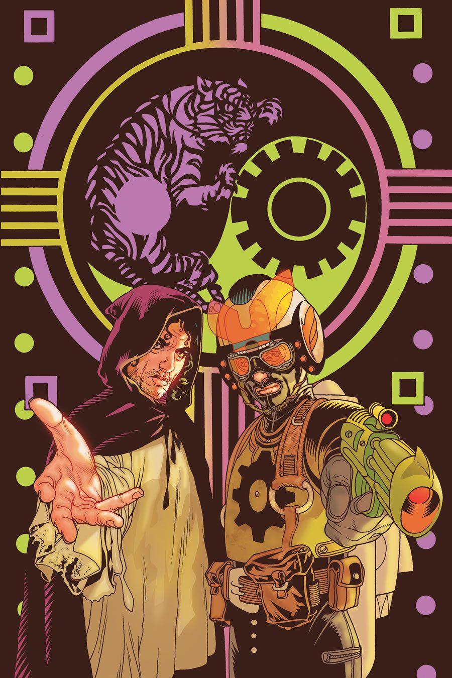 Ex machina 42 by tony harris graphic novel cover