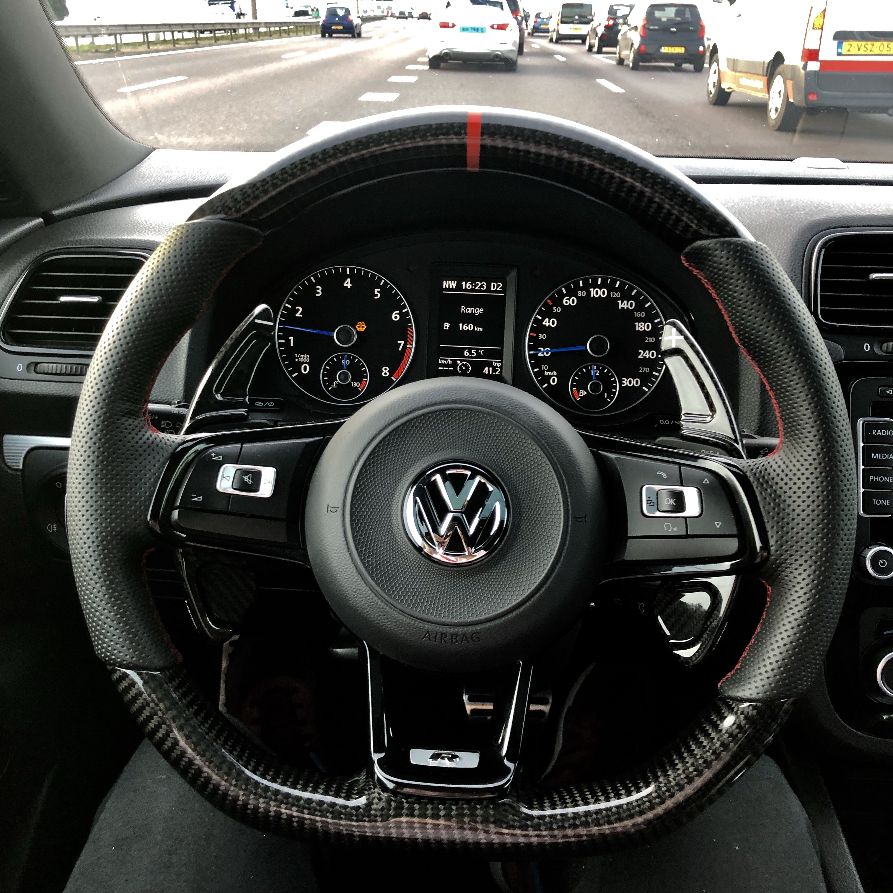 Vw Scirocco R Custom Steering Wheel For Carbon Fibre