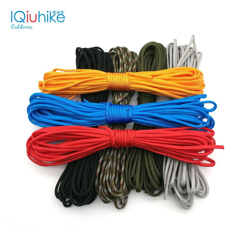 5 Meters Dia 4mm 7 Stand Cores Paracord For Survival Parachute Cord Lanyard Camping Climbing Camping Rope Hiking Clothesline Camping Rope Parachute Cord