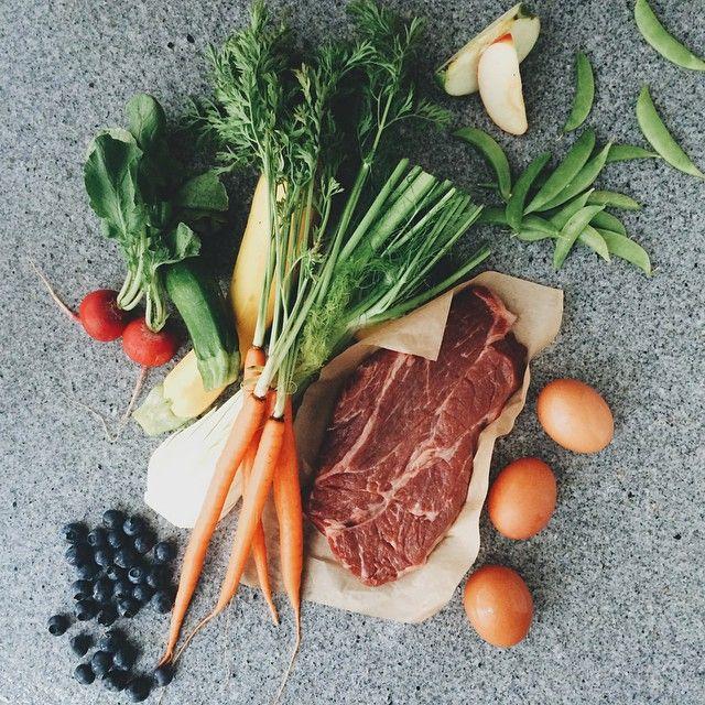 #vscocam a little sneak peek at yesterday's shoot highlighting fresh ingredients. #foodie #foodphotography