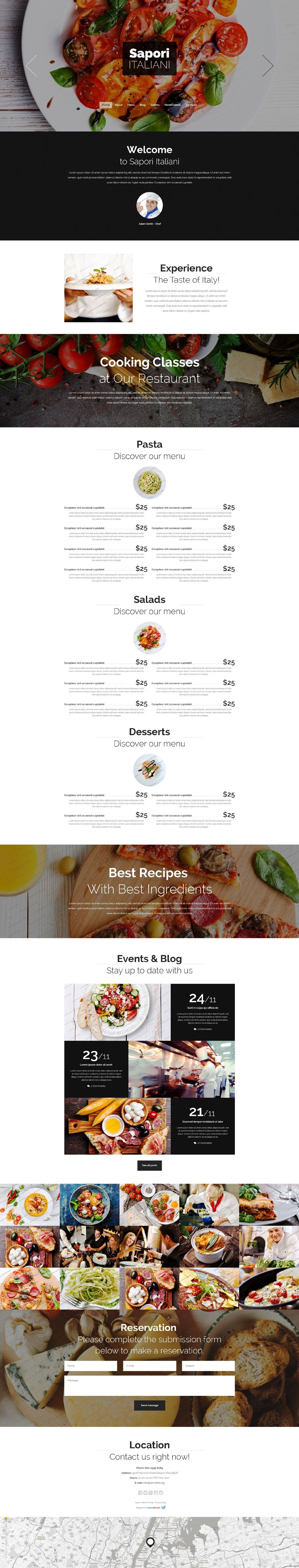 drupal restaurant themes free