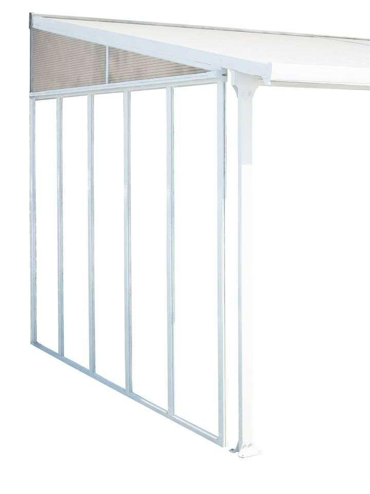Palram Feria Patio Cover Sidewall Kit Patio Acrylic