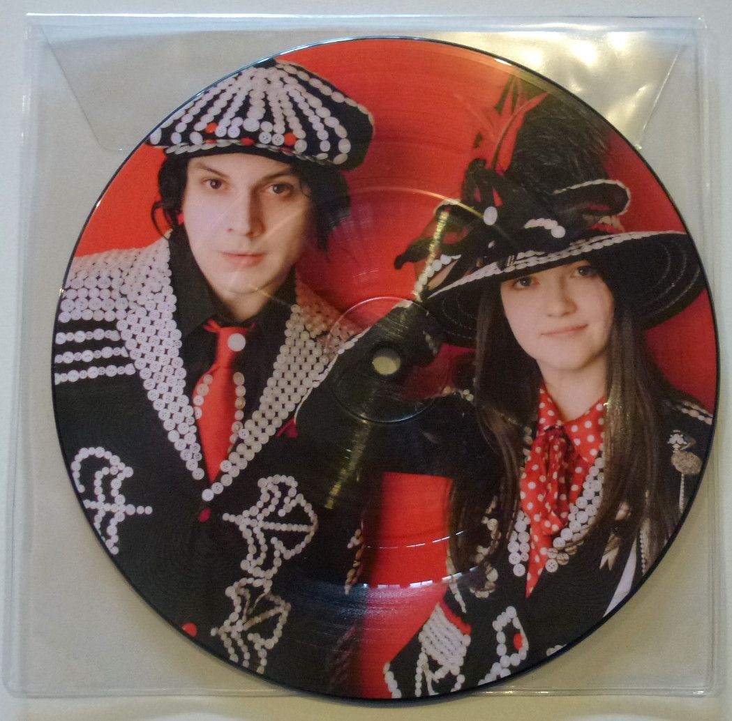 White Stripes Icky Thump Mint 7 Picture Disc Jack White