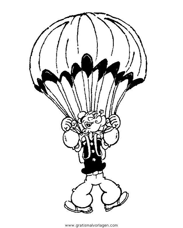 Popeye 04in Trickfilmfiguren Gratis Malvorlagen Ausmalen Malvorlagen Ausmalbilder