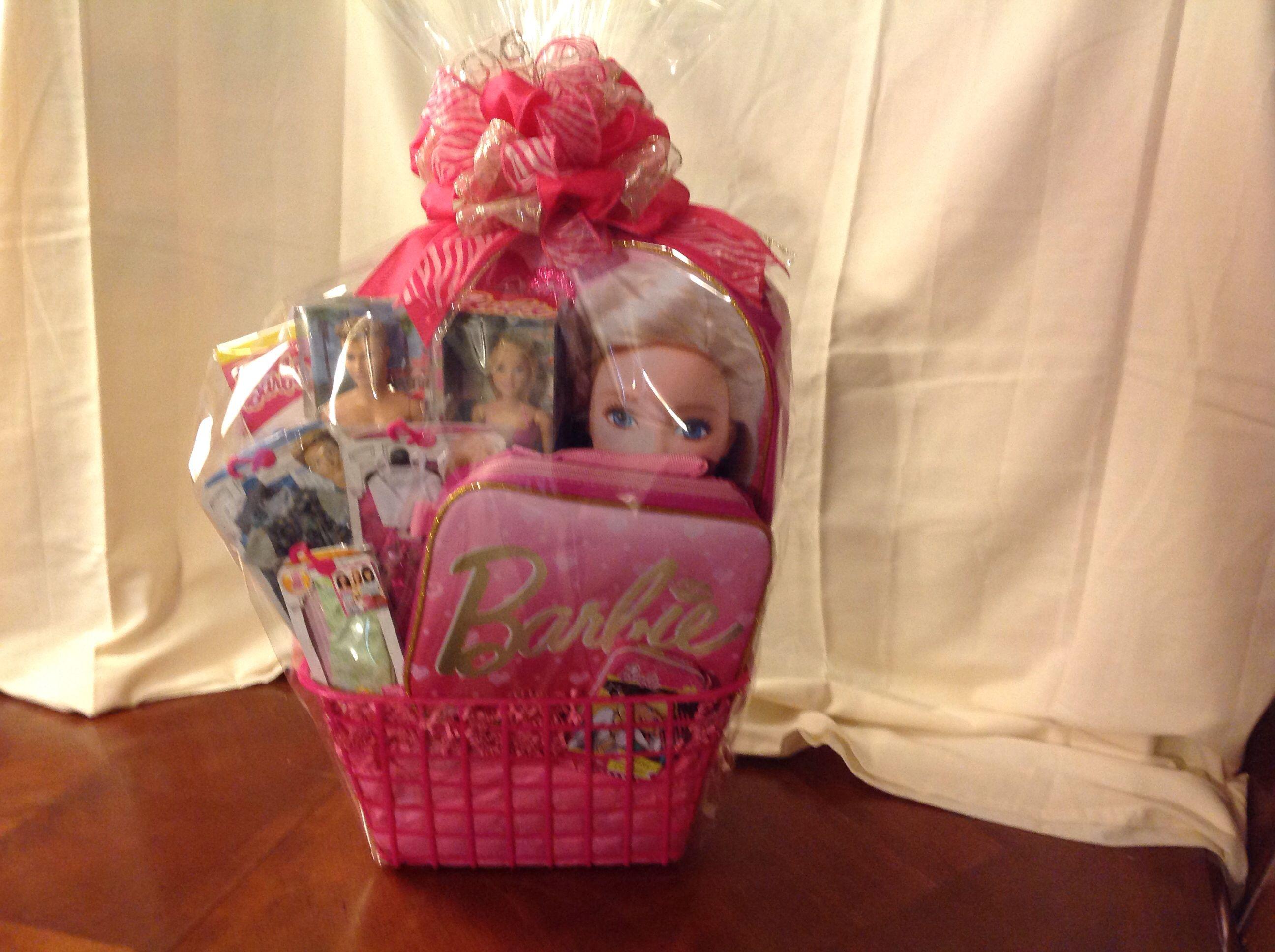 Barbie festival baskets pinterest