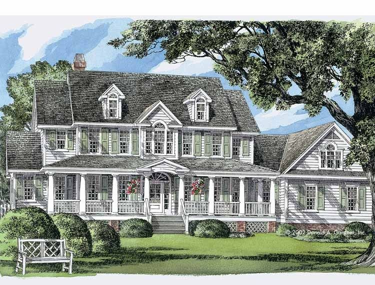 Farmhouse House Plan With 3419 Square Feet And 4 Bedrooms From Dream Home Source