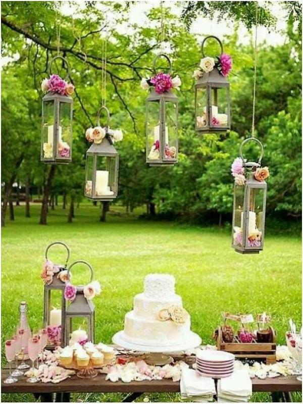 Chic Wedding Dessert Table Ideas | Garden Party Ideas | Pinterest ...