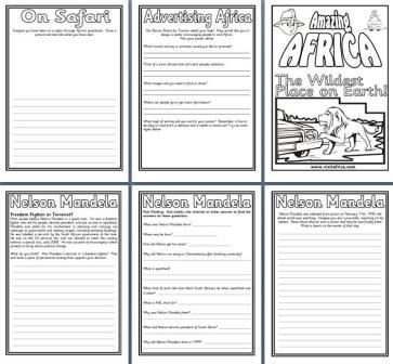 Geography Resources Teaching About Africa Worksheets Colouring Pages And Posters For An Africa Printable Teaching Resources Geography Worksheets Teaching Africa geography worksheets
