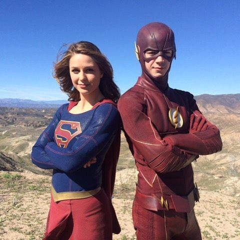Grantgustinnews Supergirl And Flash Supergirl Supergirl Tv