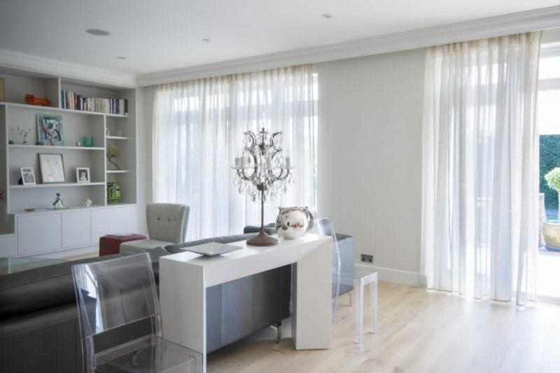 We Can Offer Several Solutions For Window Treatments Bifold Doors Including Curtains Blinds Voiles And More
