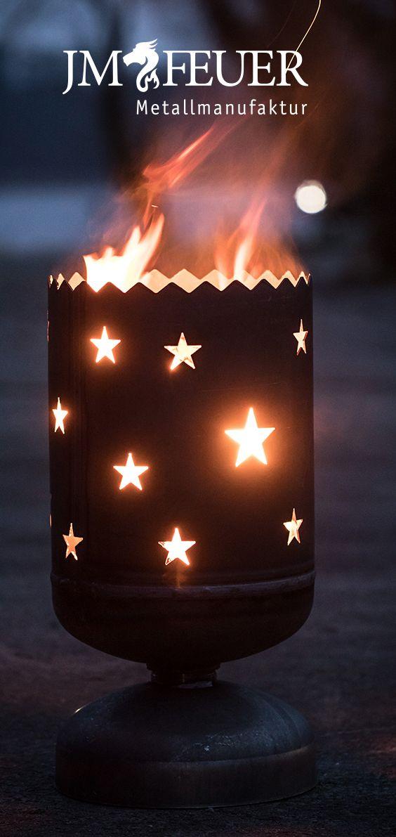 Jm Feuer Shop kleine feuertonnen in verschiedenen ausführungen und motiven für den