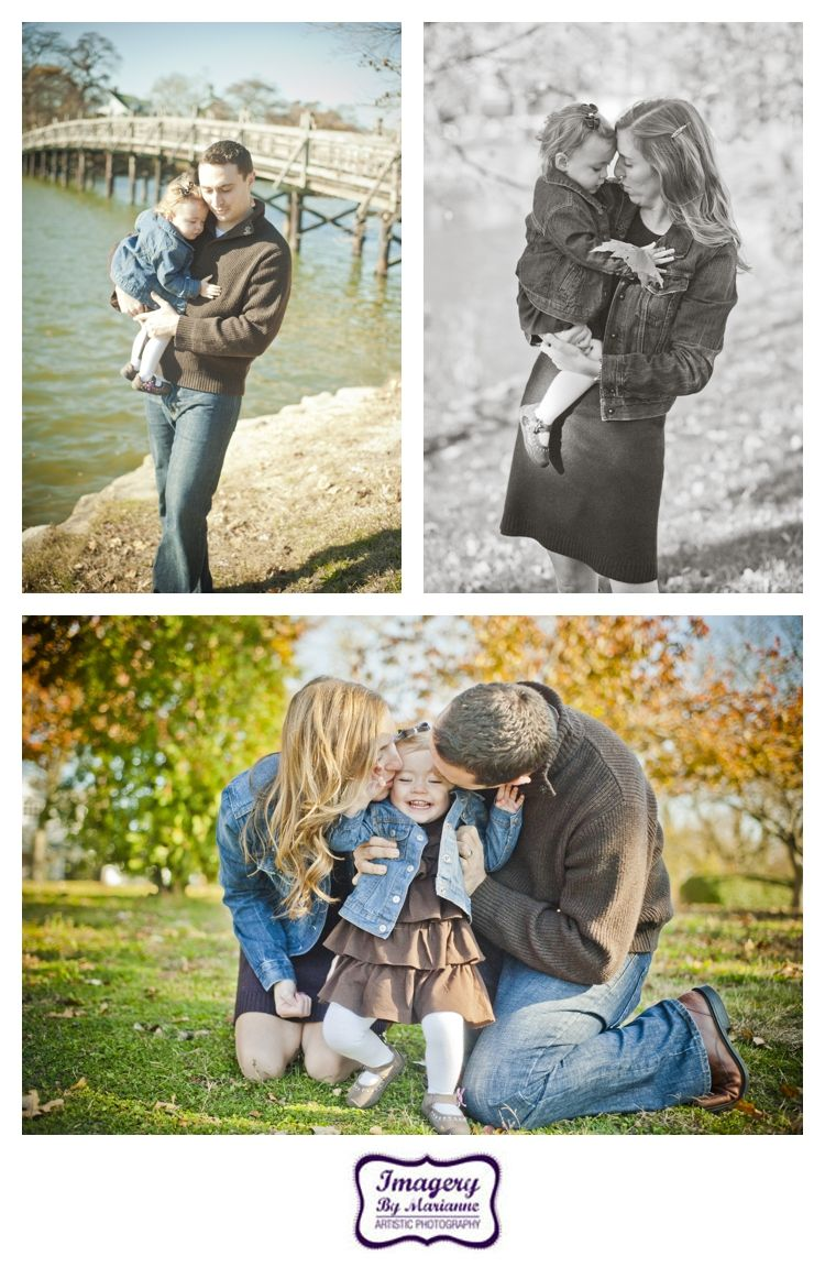 Stephanie, Tim, & Ella {Family Shoot}