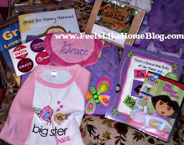 Gifts to give a new big sister when the baby arrives