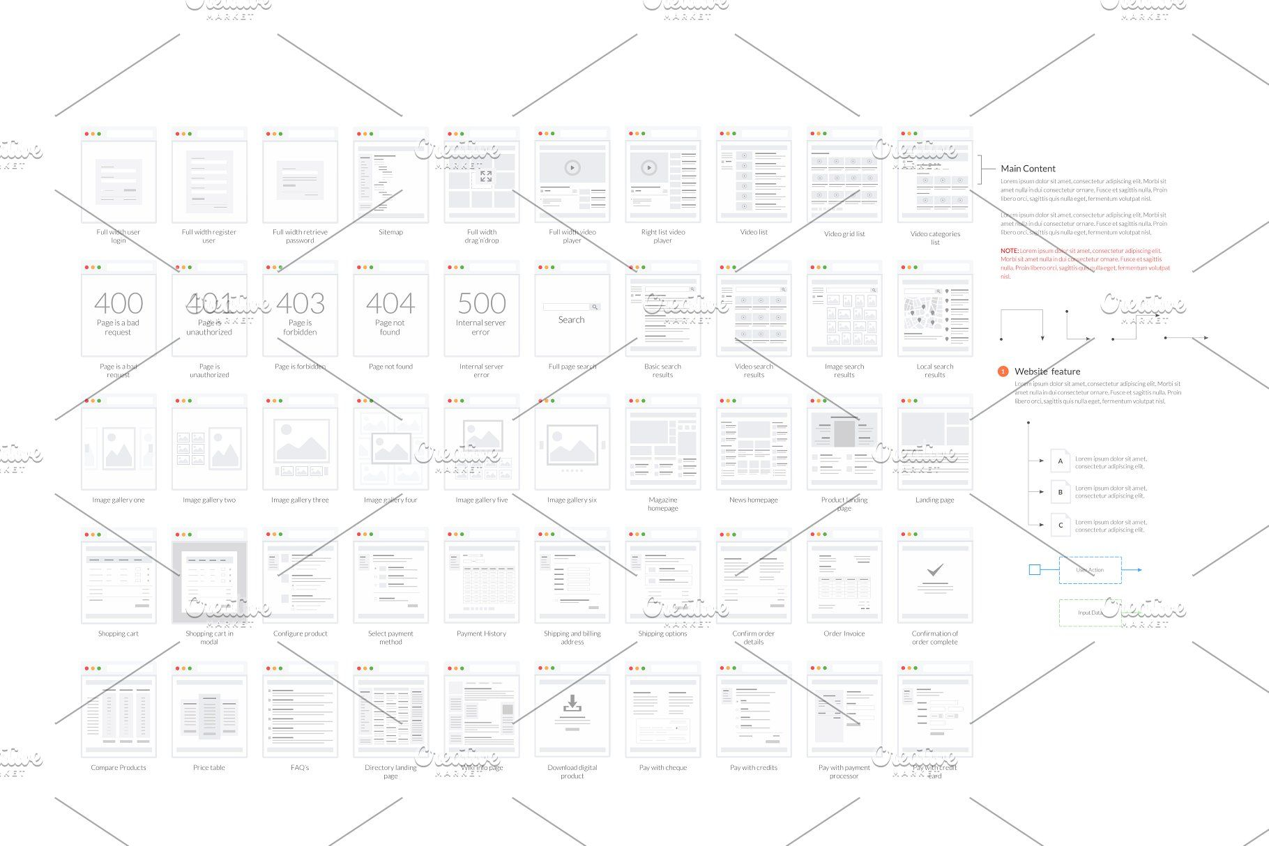 Tiles For Wireframes