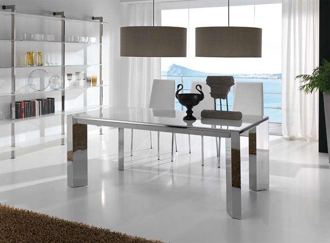 Mesas de Cristal para comedor | hogar dulce hogar | Pinterest ...