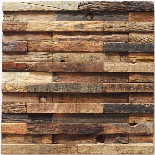 Decorative Wood Wall Tiles Pinwouterbeelen On Woning  Pinterest